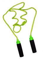 Springtouw 210 cm - Groen (met Glitters) bij debadeend.nl