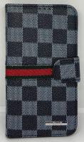 Telefoonhoesje Wallet Bookcase Zwart voor Samsung Galaxy S5 - Louis Uitvoering bij debadeend.nl